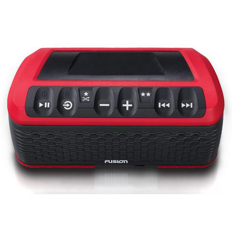 Fusion Stereo Active Waterproof Speaker Bluetooth/USB/AM/FM/iPhone/Android - RED Thumbnail 4