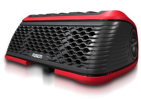 Fusion Stereo Active Waterproof Speaker Bluetooth/USB/AM/FM/iPhone/Android - RED Thumbnail 6