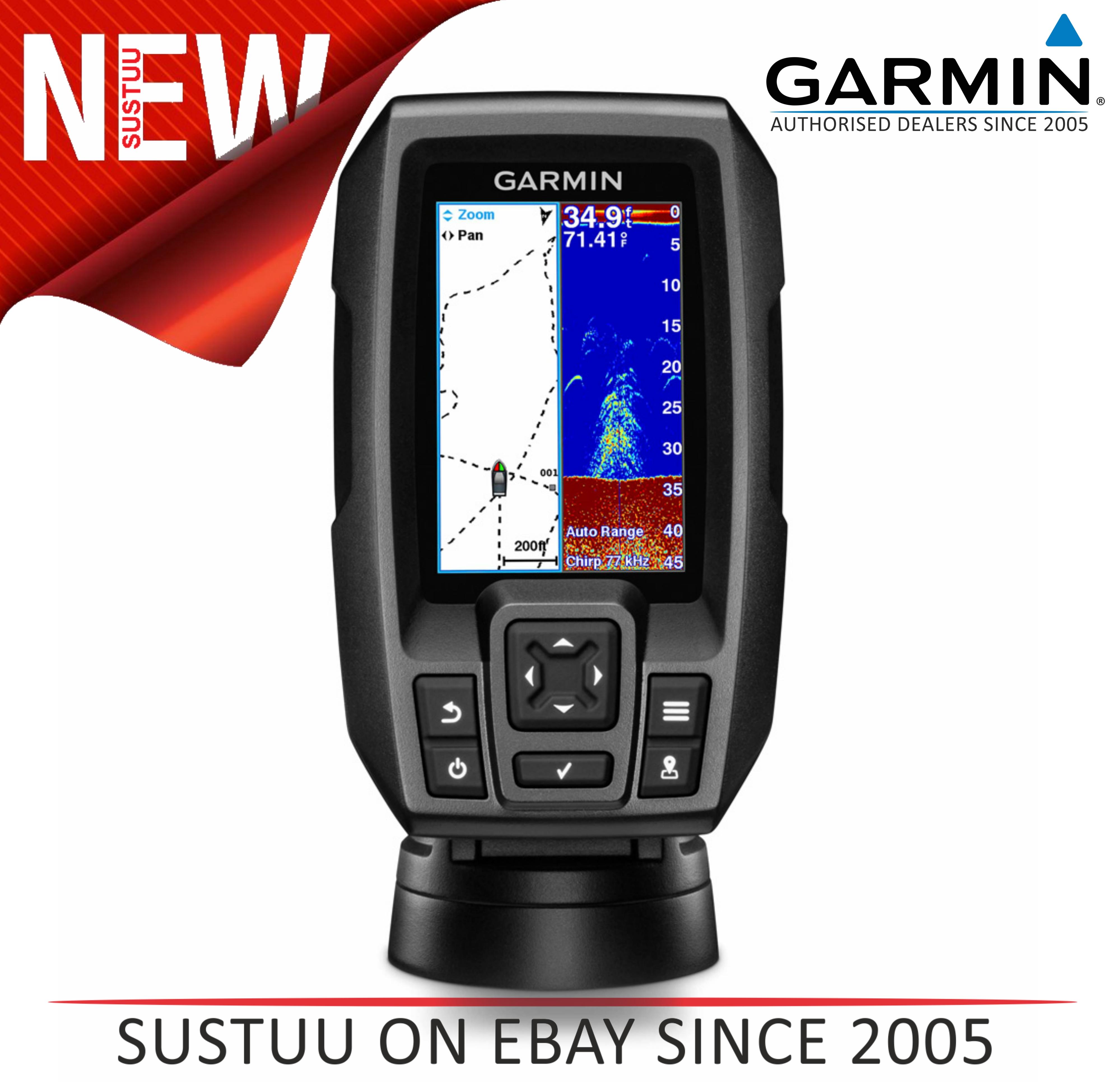 """Garmin STRIKER  4 3.5"""" Sonar WW c/w Dual Beam TM Txd. FISHFINDER - 010-01550-01"""