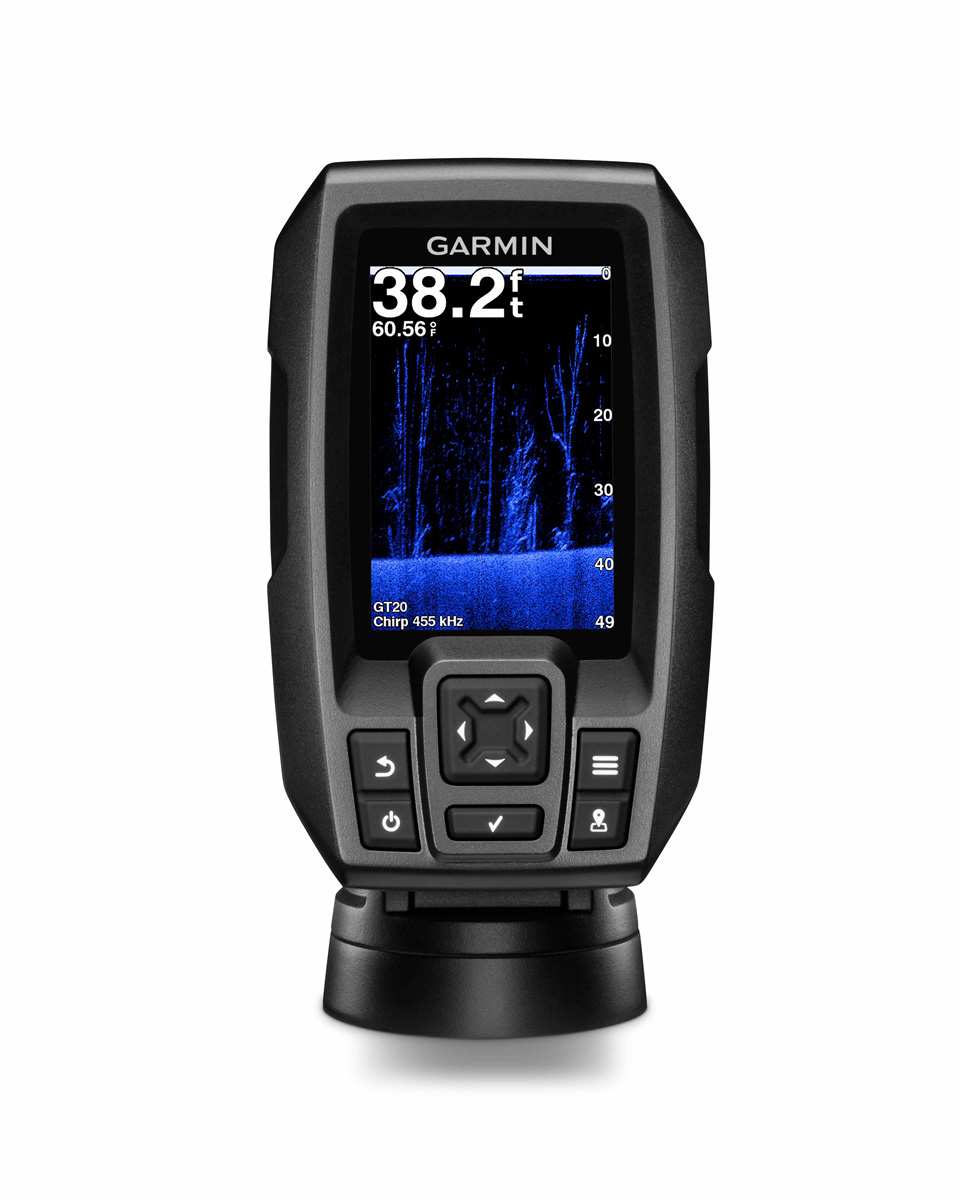 New garmin striker 4cv 3 5 sonar ww c w gt20 tm for Garmin striker 4 ice fishing
