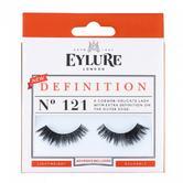 Eylure Extra Definition 121 Ladies Adhesive Reusable Easy Apply False Eyelashers