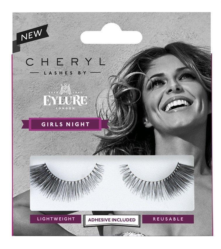 Cheryl Lashes by Eylure Girls Night Ladies Adhesive Easy Reusable Eyelashers