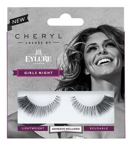Cheryl Lashes by Eylure Girls Night Ladies Adhesive Easy Reusable Eyelashers Thumbnail 1