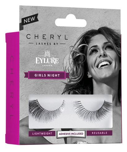 Cheryl Lashes by Eylure Girls Night Ladies Adhesive Easy Reusable Eyelashers Thumbnail 2