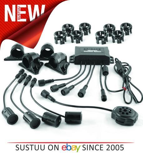 Brigade SS-4000W Side Scan / Parking Sensors  Sensors: 4   Range: 1-1.5 Meter Thumbnail 1