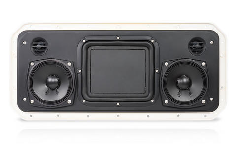 Fusion RV-FS402W IP65 Weatherproof Speaker System for Marine Boat Yacht - WHITE Thumbnail 4