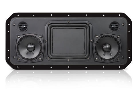 Fusion RV-FS402W IP65 Weatherproof Speaker System for Marine Boat Yacht - BLACK Thumbnail 4