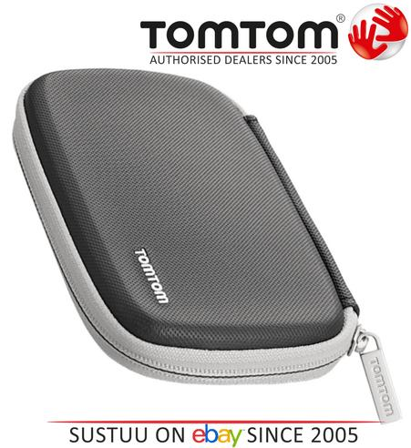 """TomTom 9UUA.001.63 Classic Carry Protective Case BLACK For 4.3"""" & 5"""" SatNavs NEW Thumbnail 1"""