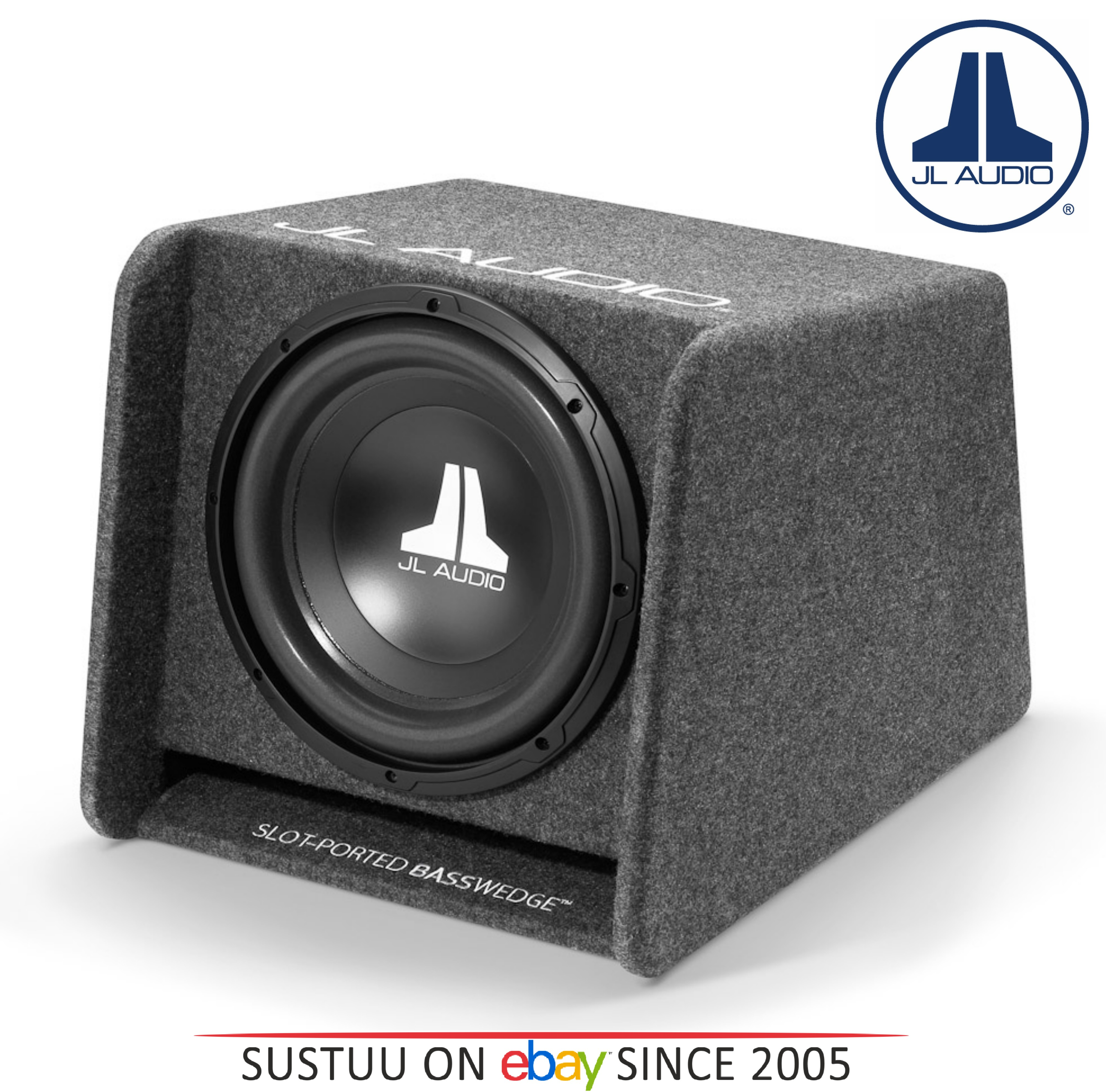 "JL AUDIO CP112 W0 V3 12"" BassWedge Single Ported Car Sub Woofer Bass Box 300W"