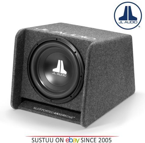 "JL AUDIO CP112 W0 V3 12"" BassWedge Single Ported Car Sub Woofer Bass Box 300W  Thumbnail 1"
