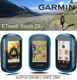 "Garmin Etrex Touch 25 2.6""Handheld GPS/GLONASS¦3-Axis Compass¦Preloaded Geocache"