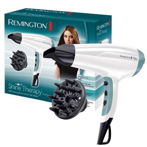 Remington Frizz Free Ionic Shine Therapy Hair Styling Dryer with Diffuser 2300W Thumbnail 1