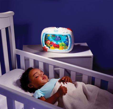 Baby Einstein Crib Sea Dream Soother Melodise Music & Lights Crib Cot Toy Mobile Thumbnail 5