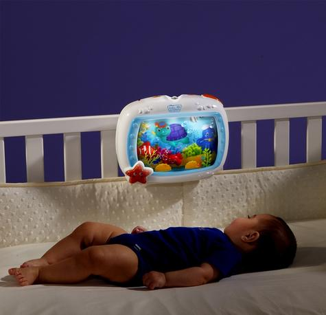 Baby Einstein Crib Sea Dream Soother Melodise Music & Lights Crib Cot Toy Mobile Thumbnail 6