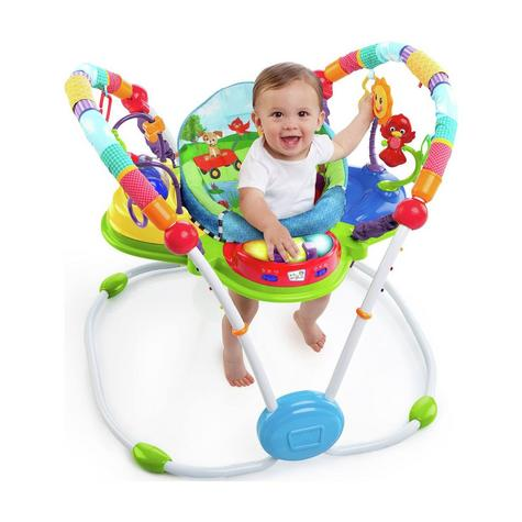Baby Einstein Neighborhood Friends Learning Activity Jumper Entertainers Toy NEW Thumbnail 2