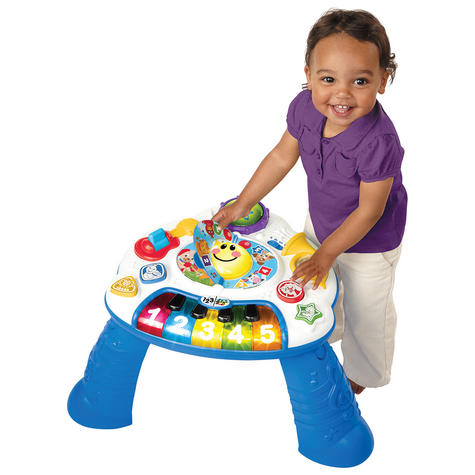 Baby Einstein Discover Music Activity Table Fun Play & Learn Toy in 3 Language Thumbnail 2