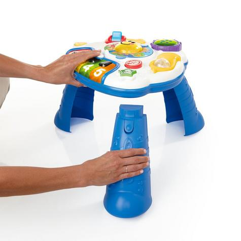 Baby Einstein Discover Music Activity Table Fun Play & Learn Toy in 3 Language Thumbnail 3