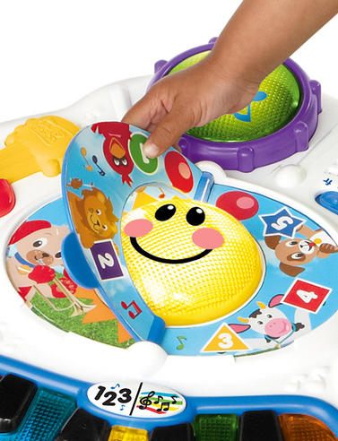 Baby Einstein Discover Music Activity Table Fun Play & Learn Toy in 3 Language Thumbnail 4