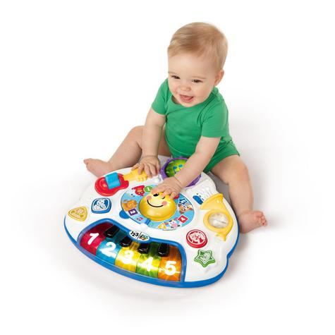 Baby Einstein Discover Music Activity Table Fun Play & Learn Toy in 3 Language Thumbnail 5