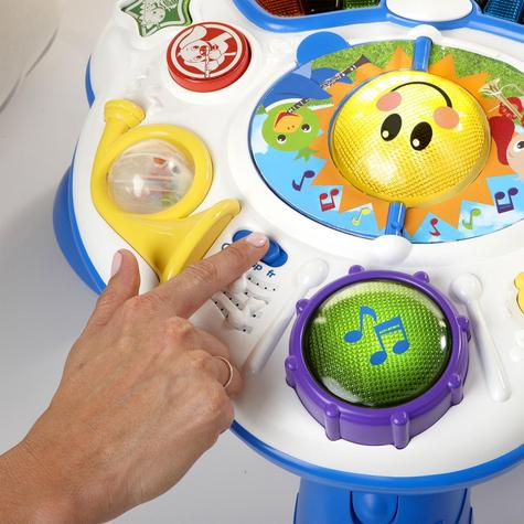 Baby Einstein Discover Music Activity Table Fun Play & Learn Toy in 3 Language Thumbnail 7