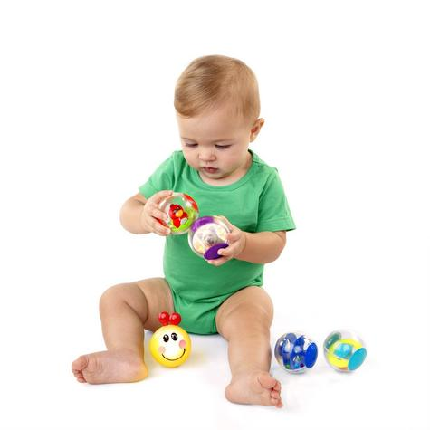 Baby Einstein Roller Pillar 5 Activity Balls, Kids Creative Sensory Relief Toy Thumbnail 2