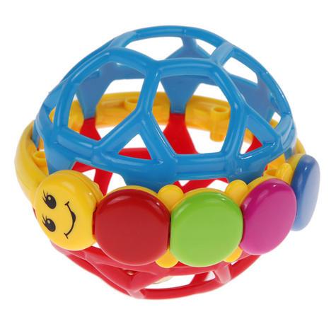 Baby Einstein Bendy Ball Bright Colours Development Easy Grasp & Teething Toy Thumbnail 2