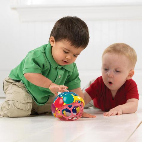 Baby Einstein Bendy Ball Bright Colours Development Easy Grasp & Teething Toy Thumbnail 4