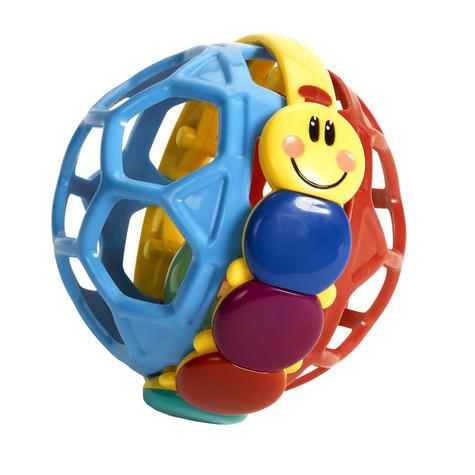 Baby Einstein Bendy Ball Bright Colours Development Easy Grasp & Teething Toy Thumbnail 1