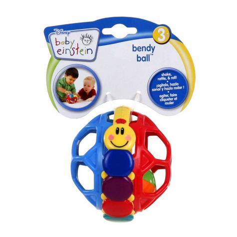 Baby Einstein Bendy Ball Bright Colours Development Easy Grasp & Teething Toy Thumbnail 6