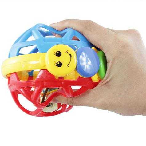 Baby Einstein Bendy Ball Bright Colours Development Easy Grasp & Teething Toy Thumbnail 3