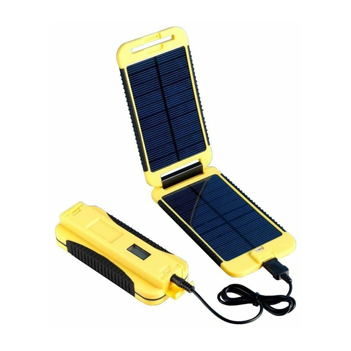 Powermonkey Extreme Yellow SOLAR Charger for Tablet Smartphone iPhone iPod GPS
