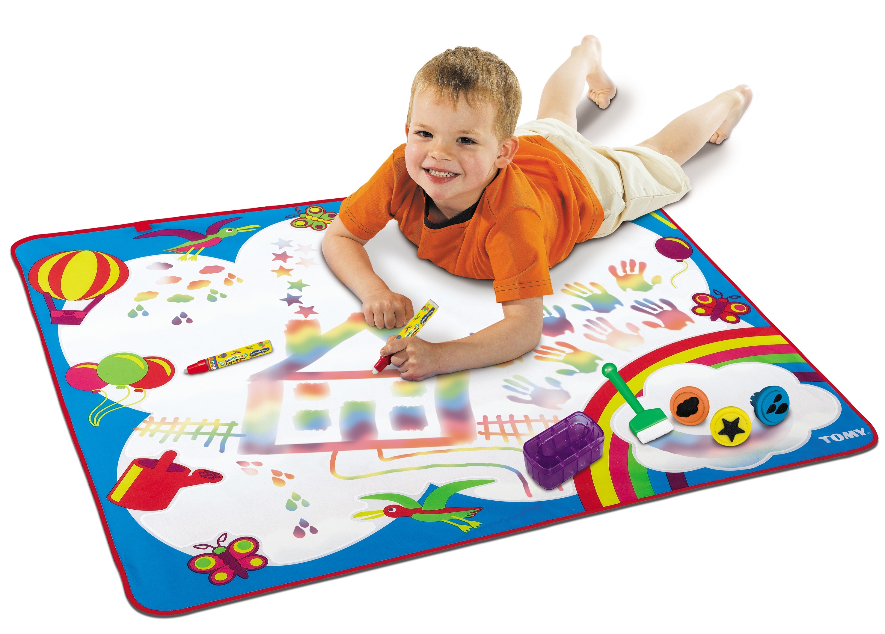 ... Rainbow Aquadoodle Art Painting Drawing Mat Baby Toddler Childrens Toy