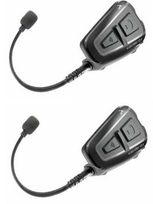 Cardo Scala Q1 Teamset Motorcycle Bluetooth Intercom Headset GPS Rider-Passenger Thumbnail 2
