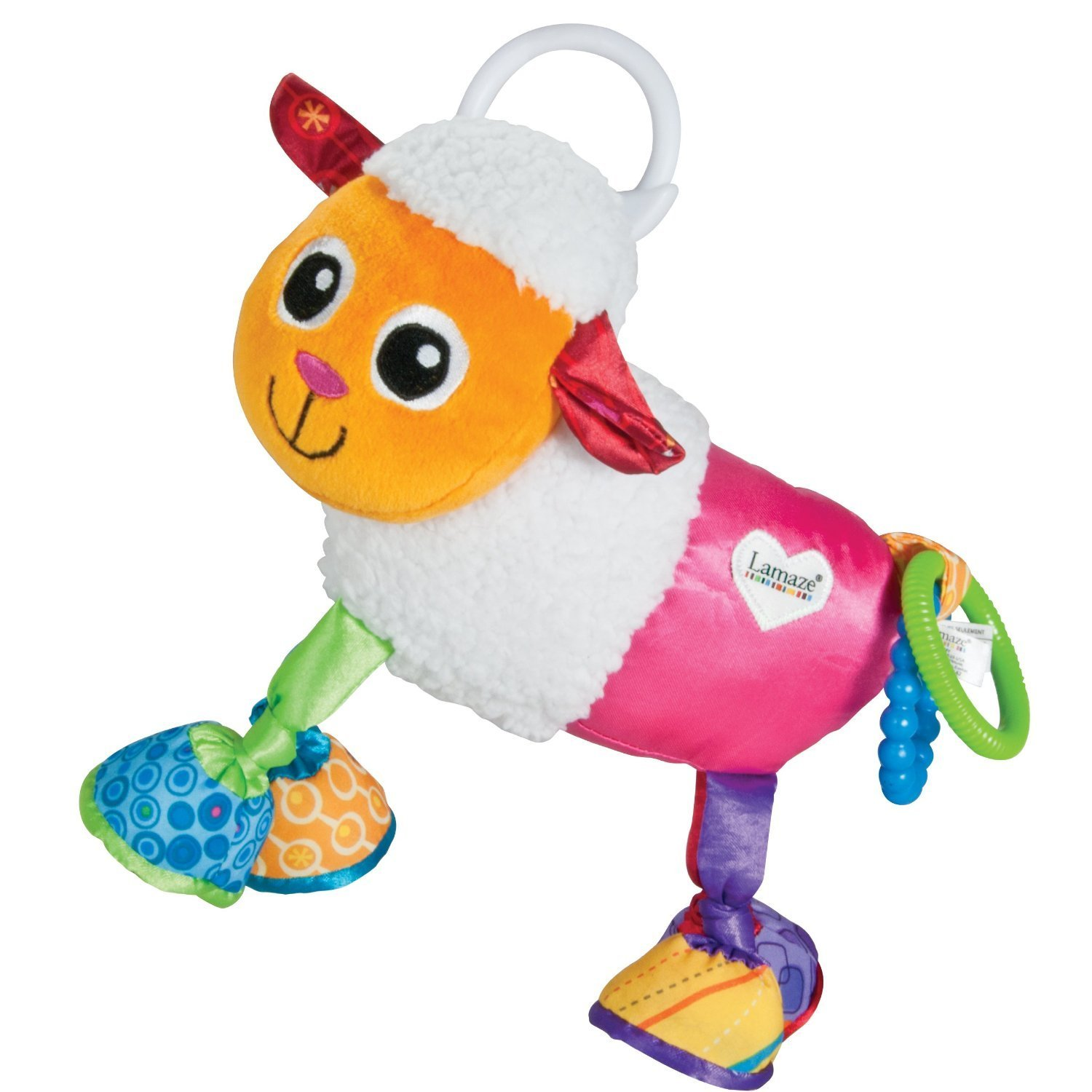 Lamaze Play & Grow Shearmy the Sheep Toy Infant Baby Care Toddler Toy Tomy | Sustuu