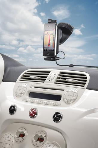 TomTom Apple iPhone 4S 4 3GS 3G Bluetooth Handsfree Car Kit Holder Mount Speaker Thumbnail 6