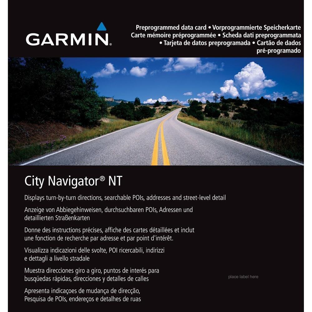 Garmin City Navigator South East Asia SD Card Singapore Malaysia 010-11652-00