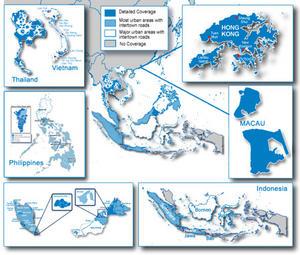 Garmin City Navigator South East Asia SD Card Singapore Malaysia 010-11652-00 Thumbnail 2