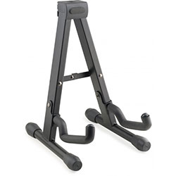 "Stagg Foldable ""A"" stand for Ukuleles, Mandolins and Violins - Black Music"