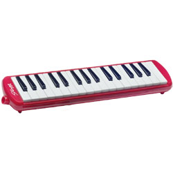 Stagg Melodica Reed Keyboard - Red Music