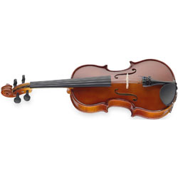 Stagg Solid Maple Violin with Soft-case Music