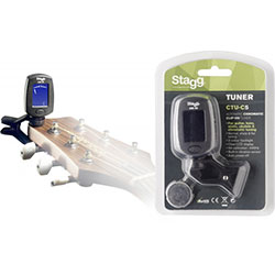 Stagg Automatic Chromatic Clip On Tuner Music