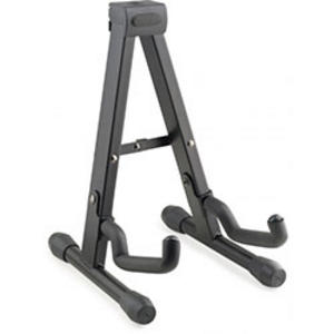 "Stagg Foldable ""A"" stand for Ukuleles, Mandolins and Violins - Black Music Thumbnail 1"