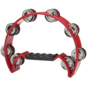 Stagg Tambourine - Red Music Thumbnail 1