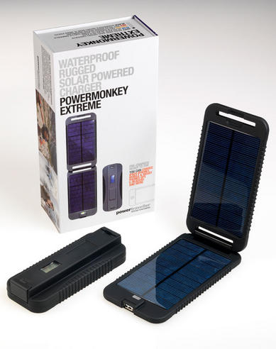 Powermonkey PMEXT003 Waterproof Rugged Extreme SOLAR Powered Charger  Thumbnail 1