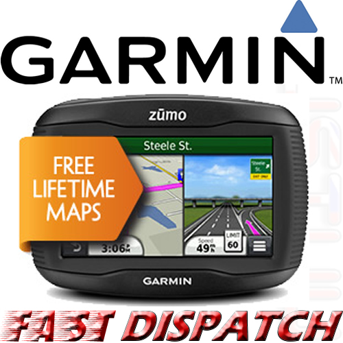 gps moto garmin zumo 350lm europe mises jour gratuites neuf ebay. Black Bedroom Furniture Sets. Home Design Ideas