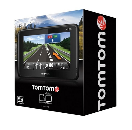 tomtom go live camper caravan edition satnav gps uk europe maps hd traffic sustuu. Black Bedroom Furniture Sets. Home Design Ideas