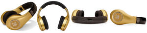 Soul by Ludicris SL300GG High-Definition Noise Cancelling On-Ear Headphones Gold Thumbnail 3