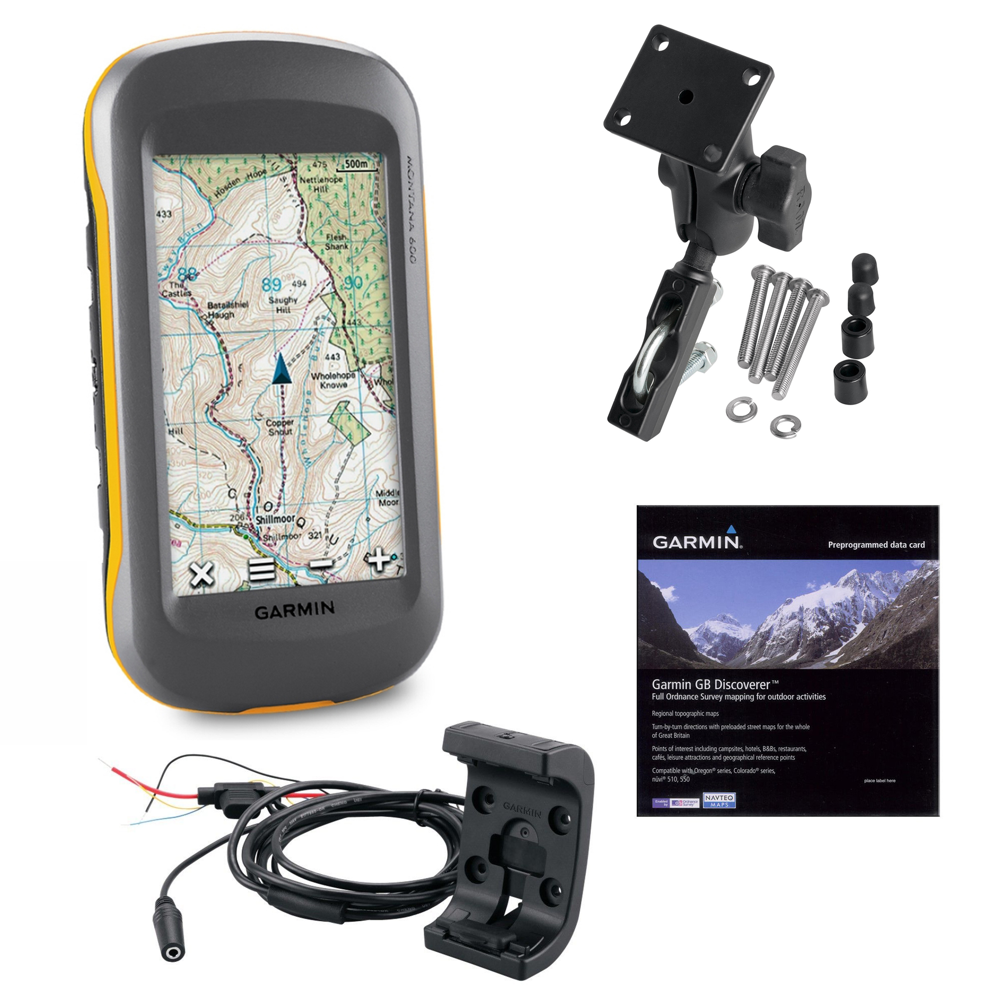 garmin montana 610 gps moto bundle motorcycle motorcross quad bike outdoor kit sustuu. Black Bedroom Furniture Sets. Home Design Ideas
