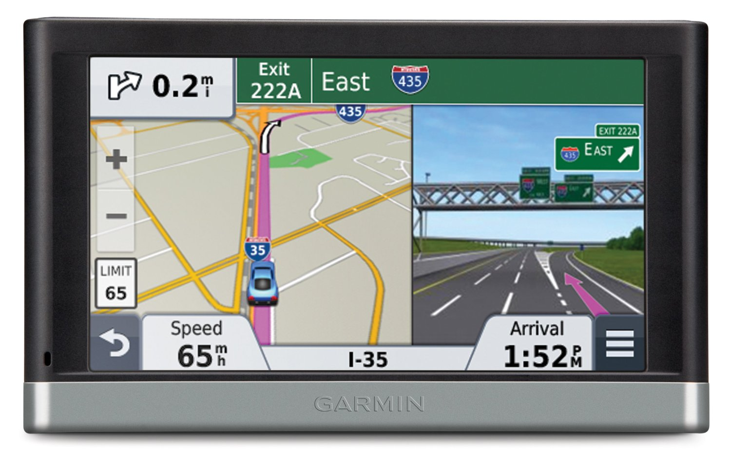 Garmin Nuvi Lt Gps Satnav North America Usa Canada Uk Europe Maps Bluetooth Thumbnail