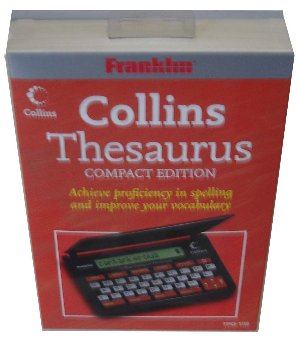 franklin electronic dictionary and thesaurus